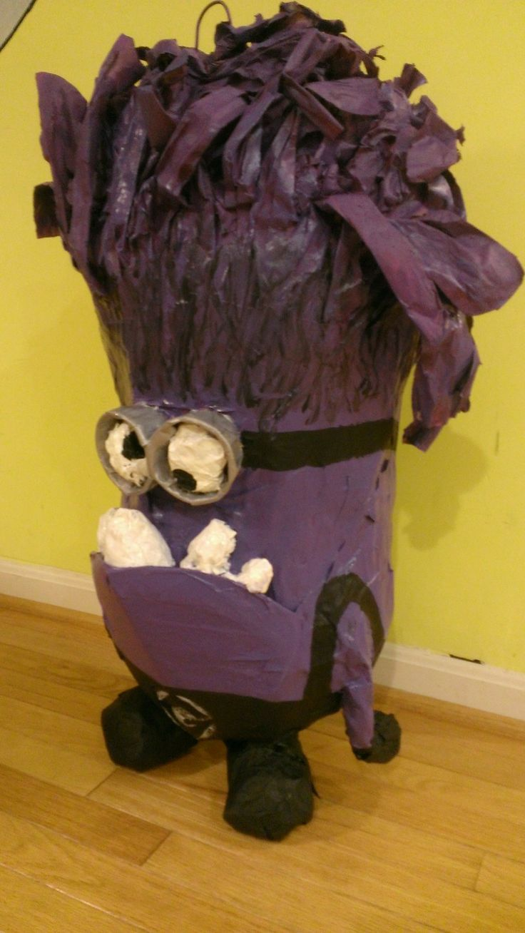 Evil Purple Minion Pinata This Might Be My Favorite