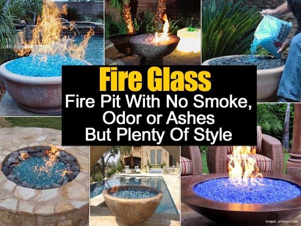DIY Fire Glass – No Smoke Odor or Ashes And Plenty Of Style