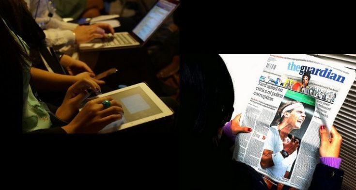 Na Europa, 82% dos jovens adultos leem jornais diários, segundo estudo da Newsworks (clases de periodismo)