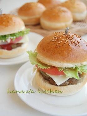 ふわふわハンバーガーバンズ by flan* [クックパッド] 簡単おいしいみんなのレシピが137万品