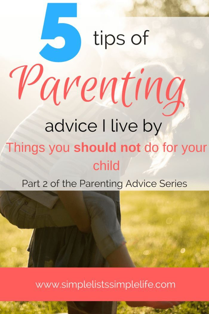 Feel like you need a little extra parenting advice for your child? This is part 2 of a 2 part series of parenting advice. Read about the 5 things you should not do for your children and view the parenting book from 1964 that is well written, and full of amazing advice for parents.