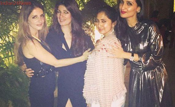 Twinkle Khanna Celebrates Sister Rinke's Birthday With Her Besties