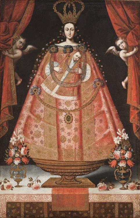 Virgin of Belen, Cuzco School (Peru), 1700-1720
