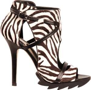 Camilla Skovgaard for Amanda Wakeley Zebra Shoes | Designer Shoes ...