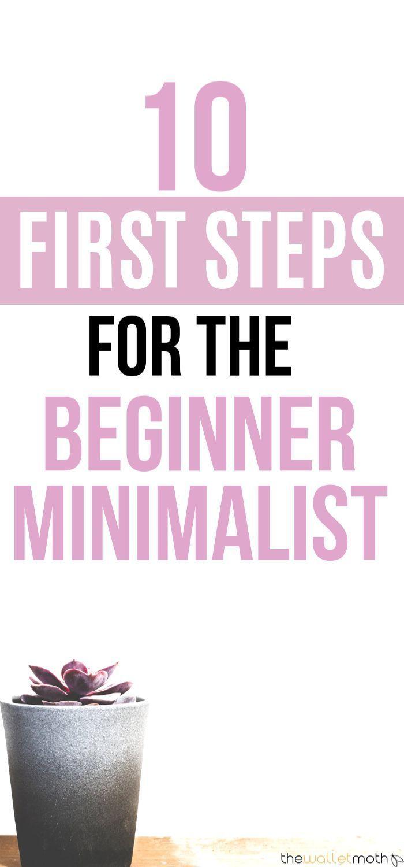 10 Super Simple Steps For Beginner Minimalists (+ Free Declutter Checklist)