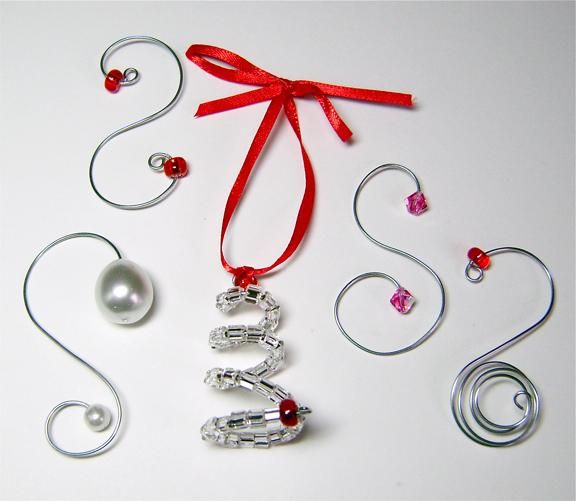52 best Ornament Hooks images on Pinterest  Ornament hooks Iron
