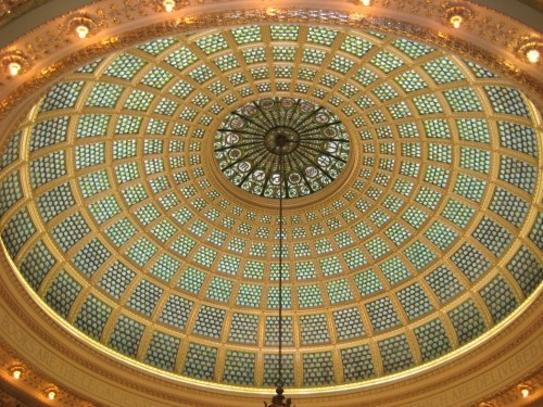 Chicago - Tiffany's dome at Chicago Cultural centre