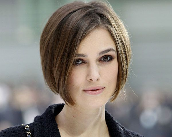 15 best Hairstyles for Big Forehead and Round Face Women images on ...