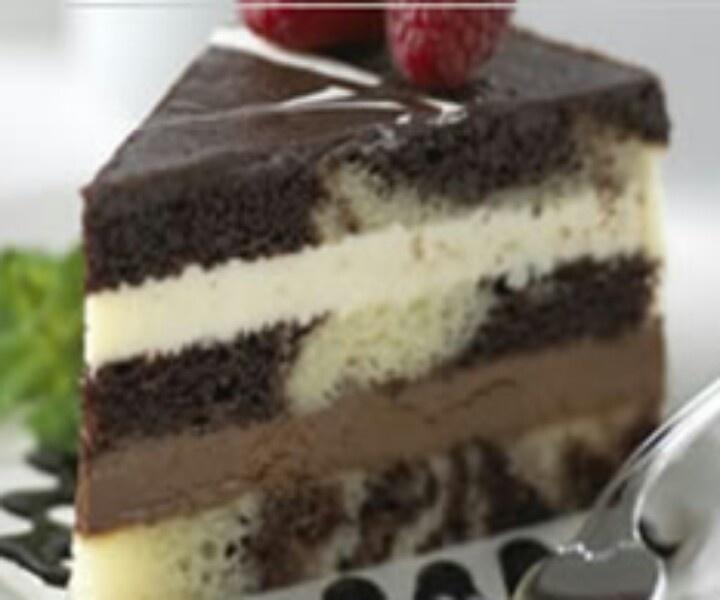 Tuxedo Truffle Mousse Bar Cake Recipe