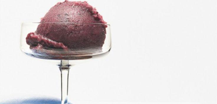 Fresh Grape and Champagne Sorbet - AOL Food