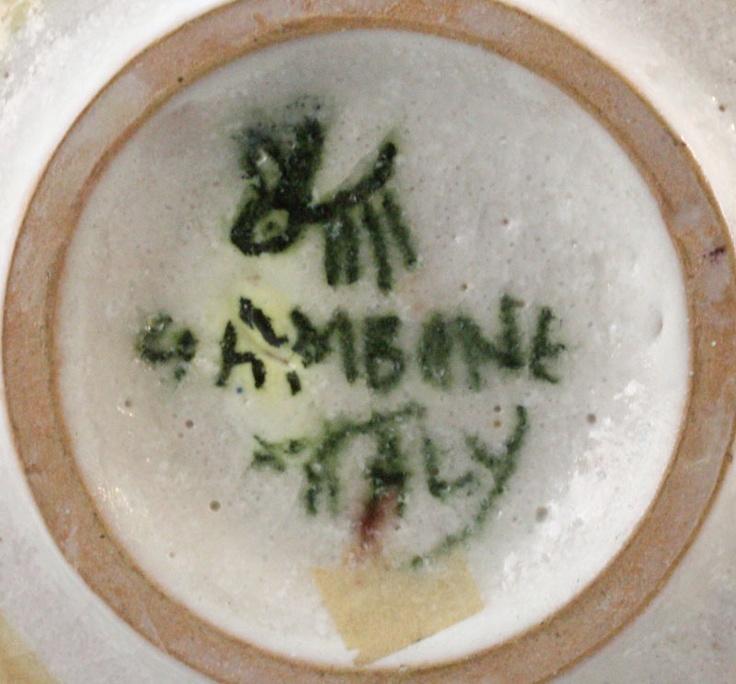 Italy Italian Pottery Marks – Jerusalem House