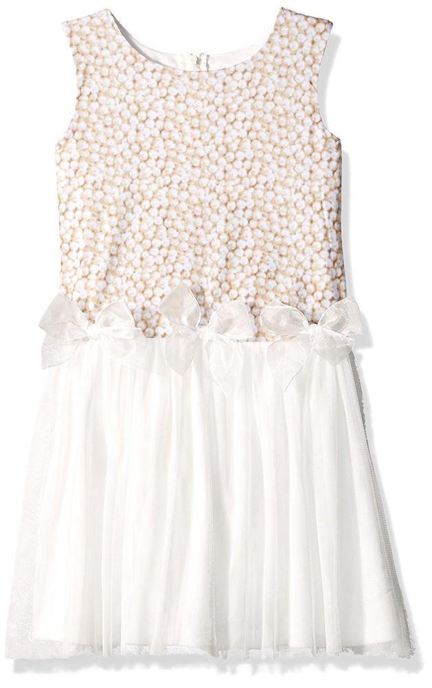 Amy byer ivory lace dress size 2t