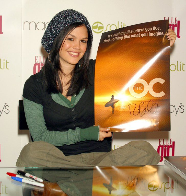 "Pin for Later: 48 Reasons You Still Love Rachel Bilson Of course, Rachel starred on The O.C., but you also have to love that she signs her name ""R.Bils."""