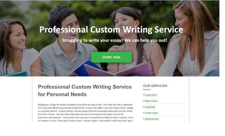 Reliable custom writing service