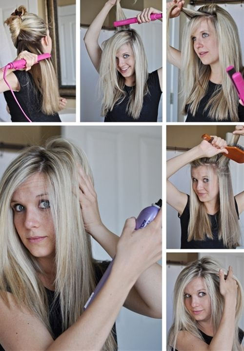 This girl has SO many tricks!! from hair to face to nails.... Pin now, read later - Click image to find more hair posts