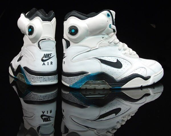 These are tight. Nike Air Force 180 Pump. The epitome of a