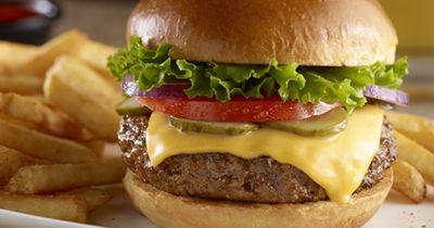 Longhorn's Steakhouse Burger