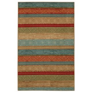 "Shop for Mohawk Home Soho Samsun Batik Stripe Multi (7'6"" x 10'). Get free shipping at Overstock.com - Your Online Home Decor Outlet Store! Get 5% in rewards with Club O!"