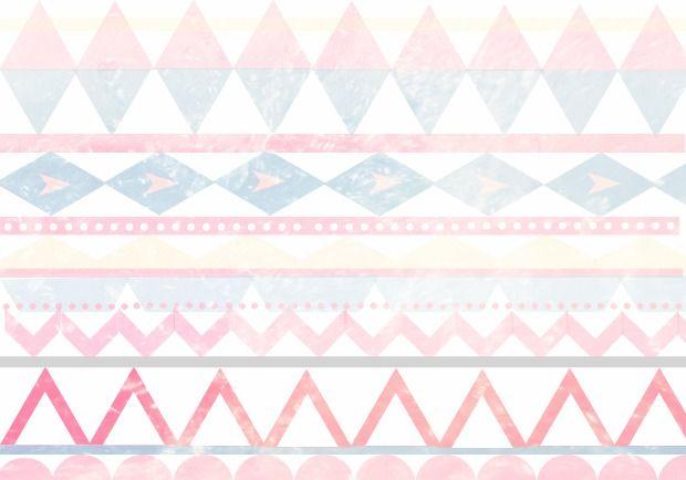 Pastel Pattern Wallpaper