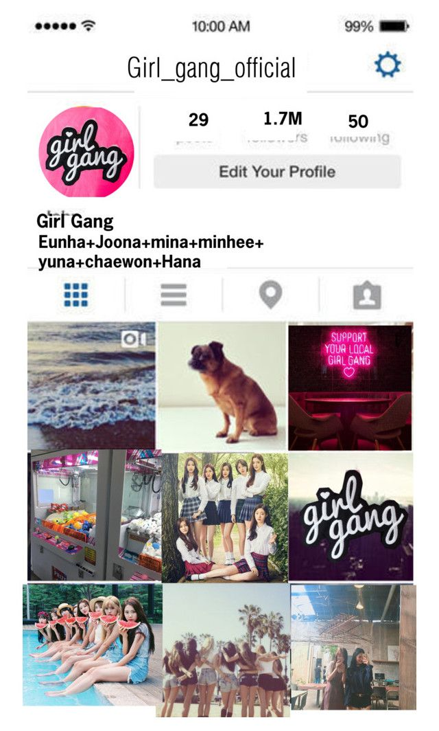 """""""☆Girl Gang Official Instagram☆"""" by girl-gang-official ❤ liked on Polyvore"""