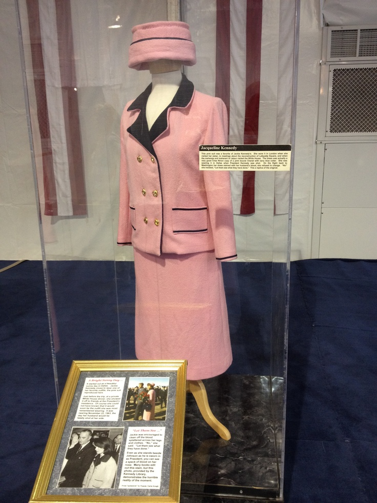 Jackie O's Famous Pink Suit On Display At The American