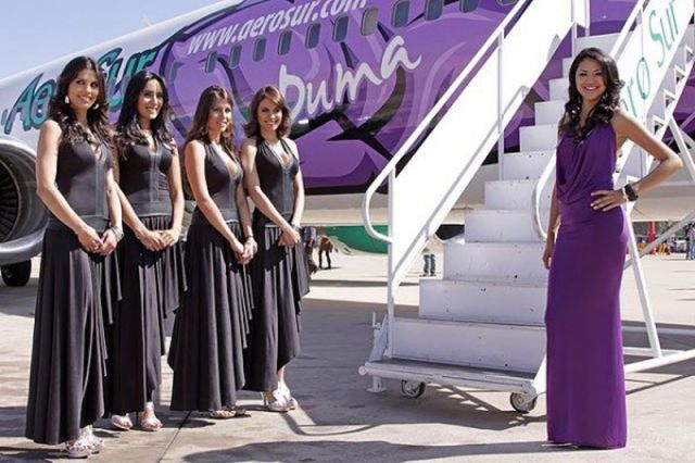 Stewardesses from All Over the World Bolivia, AeroSur