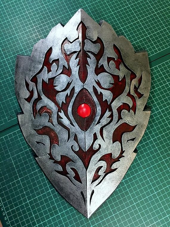 Hero Of The Shield Pattern Cursed Rage Shield Cosplay Costume Etsy In 2020 Shield Design Weapon Concept Art Shield Made on skinseed by me. hero of the shield pattern cursed rage