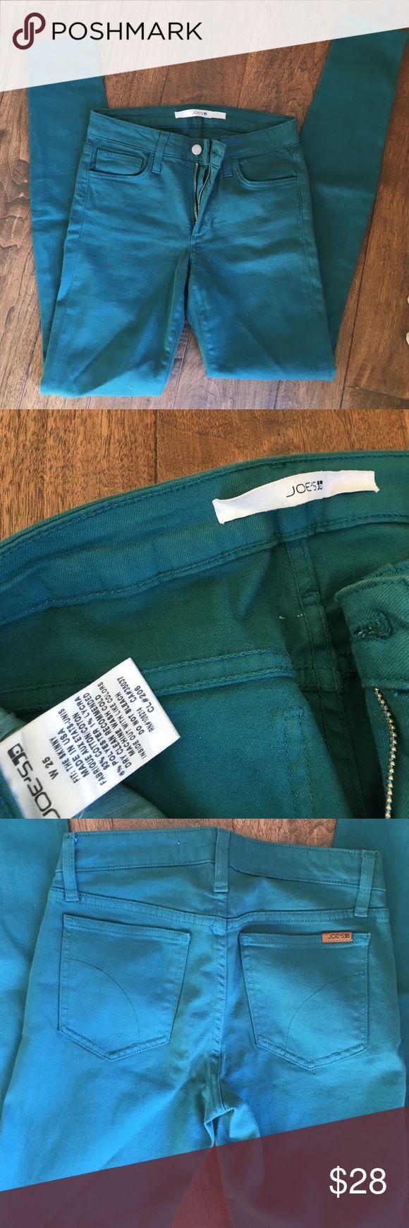 Joe's Skinny Jeans Teal, skinny jeans. Joe's Jeans Jeans Skinny