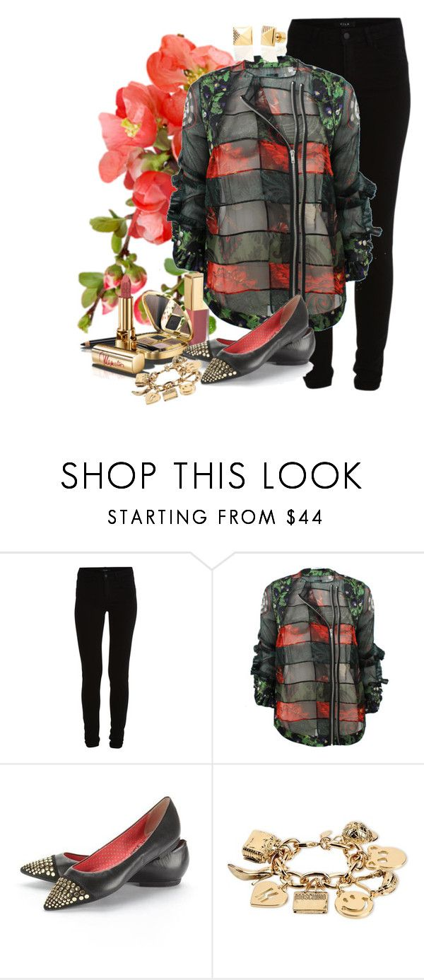 """floral1"" by francitaeg ❤ liked on Polyvore featuring VILA, Dolce&Gabbana, Givenchy, Lilly's Closet, Moschino and Michael Kors"