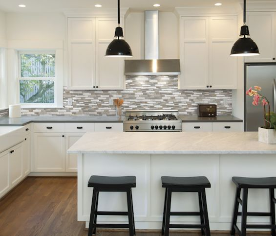 173 best home remodel me kitchen images on Pinterest Brushed