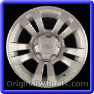Ford Ranger 2007 Wheels & Rims Hollander #3755  #FordRanger #Ford #Ranger #2007 #Wheels #Rims #Stock #Factory #Original #OEM #OE #Steel #Alloy #Used