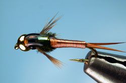 The Copper John flashback nymph is my all-time favorite sub-surface fly.  It works on every stream, during every season and in every condition.  Don't leave home without them.