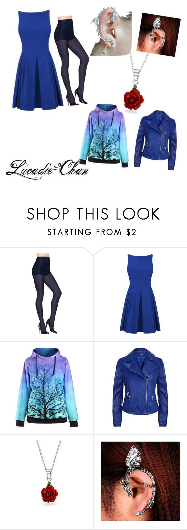 Going out and being fancy by lucadie-chan on Polyvore featuring beauty, Bling Jewelry, Armani Jeans and Hanes