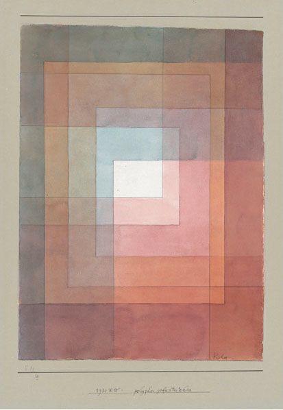 Paul Klee - Blanc polyphoniquement serti