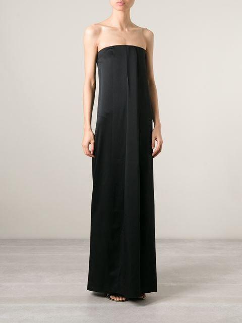 Msgm Strapless Evening Dress - Petra Teufel - Farfetch.com