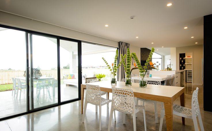 Open plan living with indoor outdoor flow!