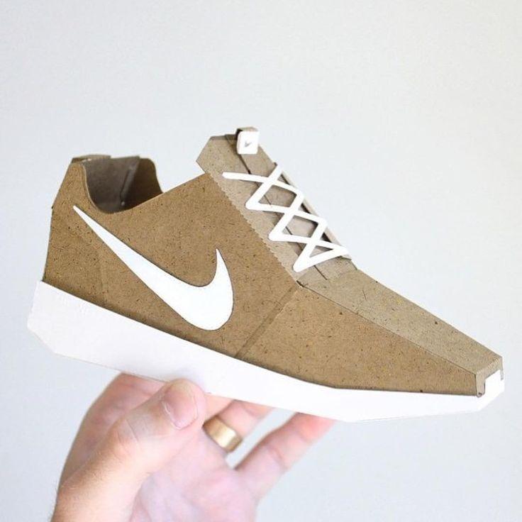 paper sneakers by Joe Bowers