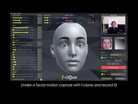 Blender real time markerless facial mocap pipeline tutorial - f