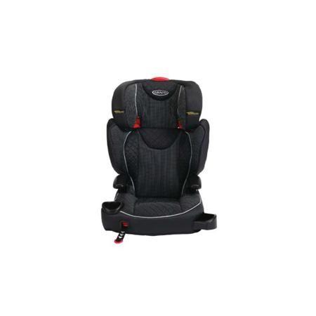"""Graco Автокресло Affix  — 6990р. ------------------------------- Автокресло """"Affix"""" чёрного цвета марки Graco. Комфортное автокресло оснащено сиденьем с мягкой набивкой, системой """"Safety Surround"""", защитой от бокового удара и незамкнутыми направляющими для ремней безопасности. Соединители """"ISOCATCH"""" фиксируются одной рукой, обеспечивают дополнительную безопасность и позволяют с легкостью устанавливать автокресло в любой автомобиль. Встроенные подлокотники и элементы с мягкой набивкой создают…"""