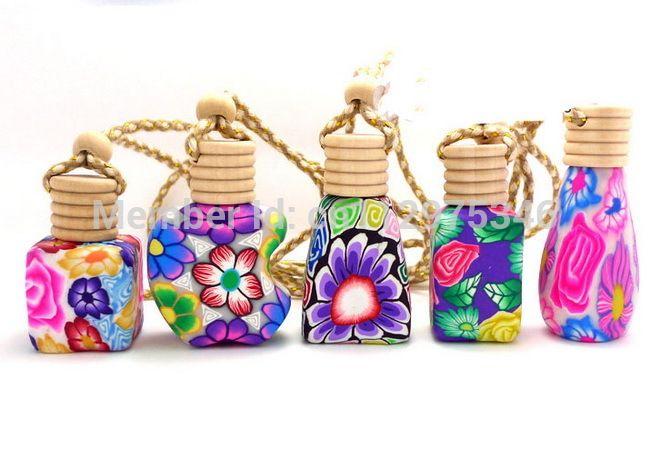 Günstige 100 Teile/los 15 ml Kosmetik behälter Gläser Keramik Fläschchen für Parfüm Flaschen Gläser Dekoration hängen dekoration + Dropper PB30, Kaufe Qualität Nachfüllbar Flaschen direkt vom China-Lieferanten: 15 ml auto hängen dekoration keramik essenzöl parfümflaschehängen seil leere flascheFarbe: verschiedenenKapazität: