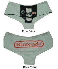 geek underwear | 15 Geek/Gaming Panties