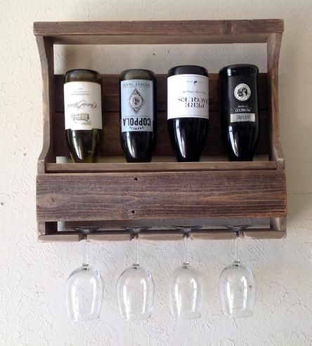 Bravo Reclaimed Barn Wood Wine Rack by Del Hutson on Scoutmob Shoppe