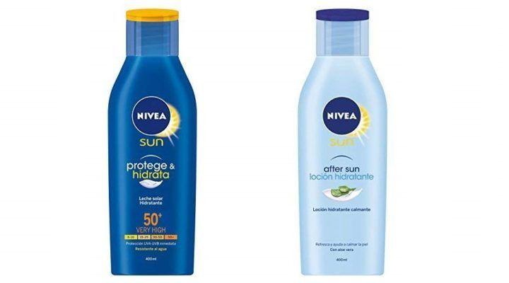 Oferta Del Dia Pack Nivea Crema Solar Hidratante Fp50 After Sun