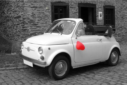 #mood #mariage #voiture #mini #vintage #romantique #romanticwedding #pronovias #metz #marionsnous #onvasedireoui