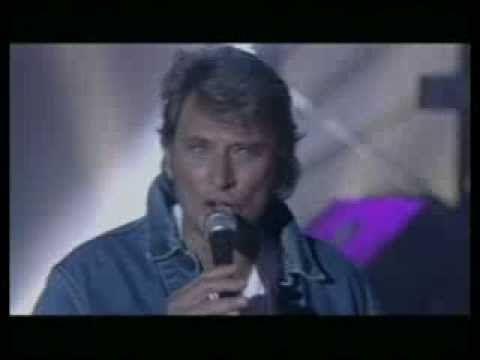 JOHNNY HALLYDAY  je veux te graver dans ma vie sacrée soirée 1993)