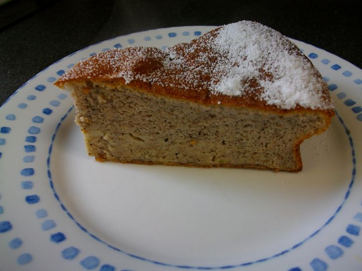 Banana cake 2.5 sins per slice