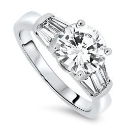 2.43ct Diamond Engagement Ring