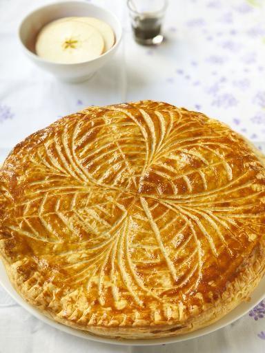 Galette des rois à la frangipane, le dessert préféré de Thierry.