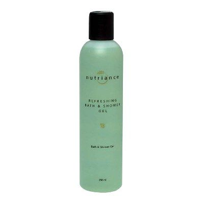 Use of Refreshing Bath & Shower Gel gives the body a refreshing wake up call every time it is used. It's multi cleaning system is extra mild, oil free and enriched with skin conditioners. Combined with luxurious botanicals including naturally occurring Aloe Vera, Pro-Vitamin B5 (Panthenol), St. John's Wort, Calendula and Balm Mint, skin always feels vibrantly clean, smooth and supple.