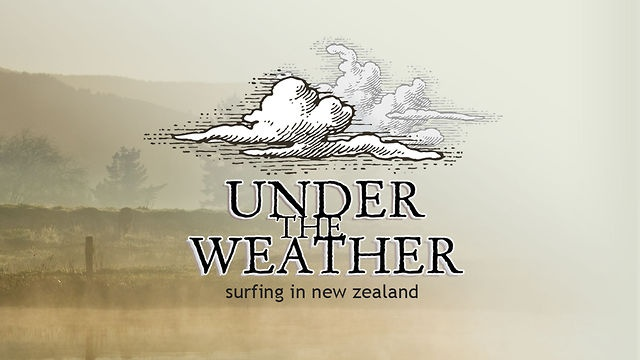 Under The Weather - Surfing in New Zealand by Damon Meade. Under The Weather is a new surf film by Damon Meade.. The film has been shot entirely in New Zealand, taking a journey from the far North to the deep South and many places in between. Along for the ride are top Kiwi surfers Maz Quinn, Ricardo Christie, Bobby Hansen, Johnny Hicks, Luke Cederman, Billy Stairmand and friends.